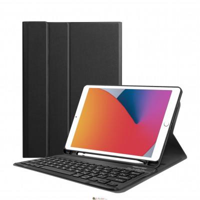 Чохол AIRON Premium для iPad 10.2'' 2019/2020 7/8th Gen та Air 3 с Bluetooth клавиатурой Black