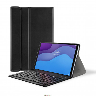 Чехол AIRON Premium для Lenovo Tab M10 HD (2nd Gen) TB-X306F с Bluetooth клавиатурой Black