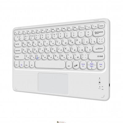 Беспроводная Bluetooth клавиатура AIRON Easy Tap 2 с тачпадом и LED для Smart TV та планшета