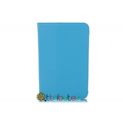 Чехол Lenovo pad A5000-E Leather case sky blue