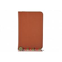 Чехол Lenovo pad A5000-E Leather case brown