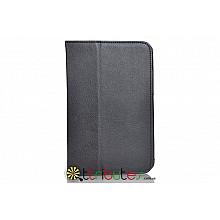 Чехол Lenovo pad A5000-E Leather case black