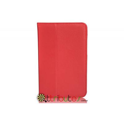Чехол Lenovo pad A5000-E Leather case red