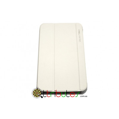 Чехол на Samsung Galaxy tab 3 8.0 book cover (Т311, Т310) white
