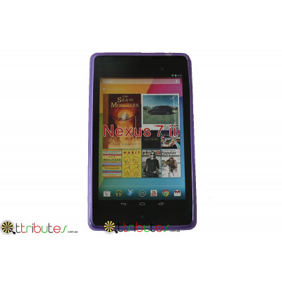 Чехол Asus Google Nexus 7  2 (2013) Spider силиконовый purple