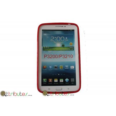 Чехол силиконовый Samsung Galaxy tab 3 7.0 (t210, t211) red