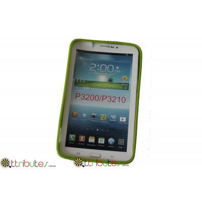 Чехол силиконовый Samsung Galaxy tab 3 7.0 (t210, t211) green