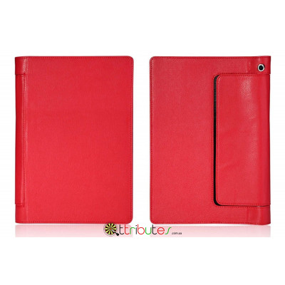 Чехол Yoga 2 Tablet 10 1050F Classic book cover red