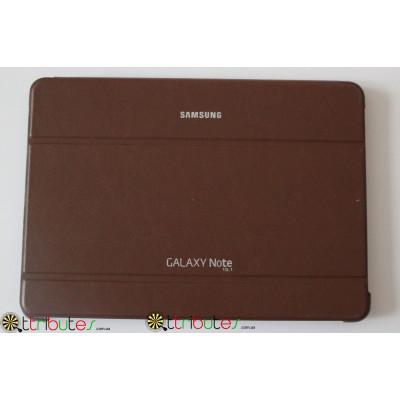 Чехол Samsung Galaxy Note 10.1 2014 p6010 Вook cover brown