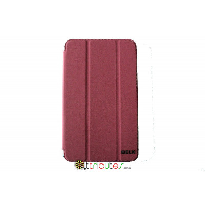 Чехол Samsung Galaxy Tab 4 8.0 (SM-T330, T331) Belk leather case pink