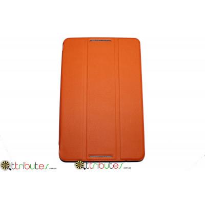 Чехол Lenovo A5500 8.0 ultaslim book orange
