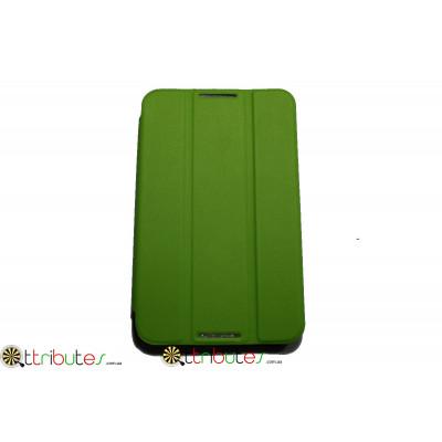 Чехол Lenovo A3300 7.0 ultaslim book apple green