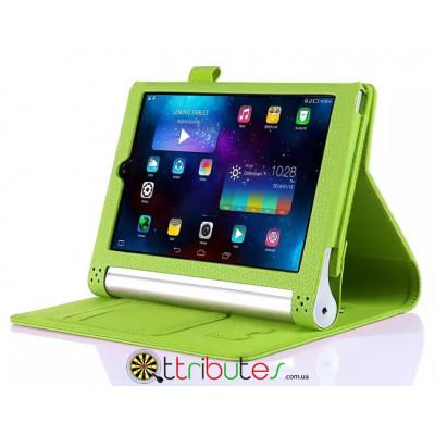 Чехол Lenovo yoga tablet3 8.0 850f Premium book cover apple green