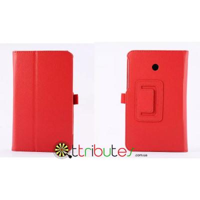 Чехол ASUS MeMO Pad 7 ME70 Classic book cover red