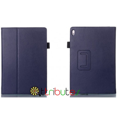 Чехол Lenovo IdeaTab 10,1 A7600 Classic book cover dark blue