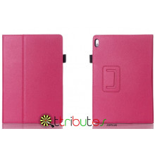 Чехол Lenovo IdeaTab 10,1 A7600 Classic book cover rose red