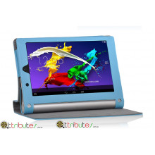 Чехол Yoga Tablet 2  8.0 830F Classic book cover sky blue
