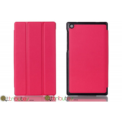 Чехол Lenovo Tab 2 A7-30tc-hc Moko ultraslim rose red