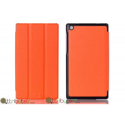 Чехол Lenovo Tab 2 A7-30tc-hc Moko ultraslim orange