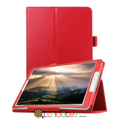 Чехол Samsung galaxy Tab E 9.6 t561 t560 Classic book cover red
