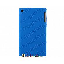 Чохол Lenovo Tab 2 A7-30 hc tc Silicone dark blue
