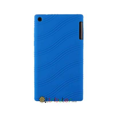 Чехол Lenovo Tab 2 A7-30 hc tc Silicone dark blue