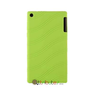 Чехол Lenovo Tab 2 A7-30 hc tc Silicone apple green