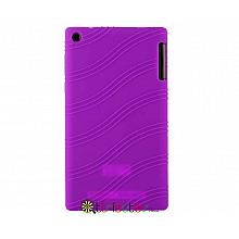 Чохол Lenovo Tab 2 A7-30 hc tc Silicone purple