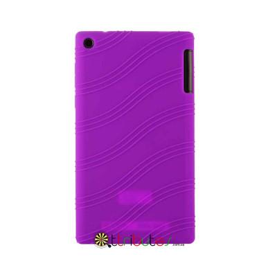 Чехол Lenovo Tab 2 A7-30 hc tc Silicone purple