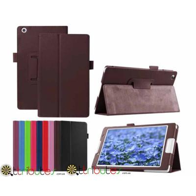 Чехол Lenovo Tab3 8 TB3 850 F M Classic book cover brown