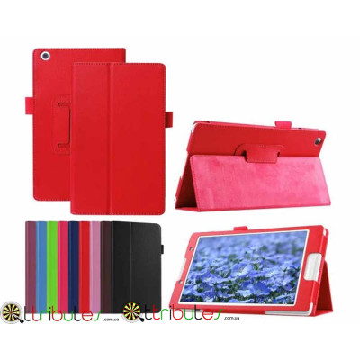 Чехол Lenovo Tab3 8 TB3 850 F M Classic book cover red