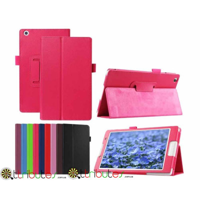 Чехол Lenovo Tab3 8 TB3 850 F M  Classic book cover rose red