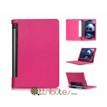 Чехол Lenovo yoga tablet 3 10 x50 Classic book cover rose red