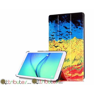 Чехол Samsung tab E 9.6 t560 t561 Print ultraslim earth