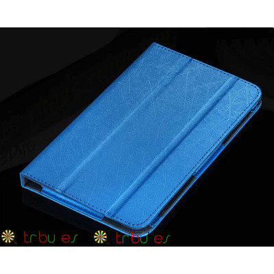 Чехол Lenovo Phab plus pb1-770n 6.8 Classic book cover sky blue
