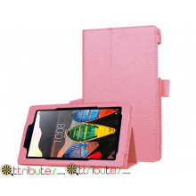 Чехол Lenovo tab 3 7.0 Essential TB3 710 F Classic book cover pink