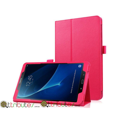 Чехол Samsung Galaxy tab a 10.1 t585 t580 Classic book cover rose red