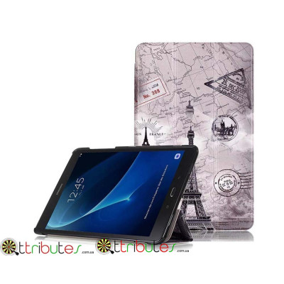 Чехол Samsung Galaxy tab a 10 t580 t585 Print ultraslim tower