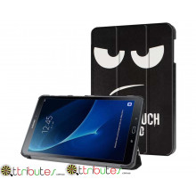 Чехол Samsung Galaxy tab a 10 t580 t585 Print ultraslim don't touch my tab