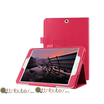 Чехол Samsung galaxy tab A 9.7 SM-T550 t555 Classic book cover rose red
