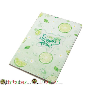 Чехол Apple iPad mini 4 7.9 Print book cover lime
