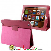 Чехол iPad 2 3 4 Classic book cover rose red