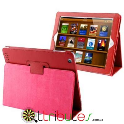 Чехол iPad 2 3 4 Classic book cover red