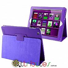 Чехол iPad 2 3 4 Classic book cover purple