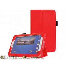 Чехол SAMSUNG GALAXY tab 3 7.0 t210, t211 Classic book cover red