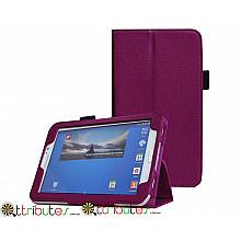 Чехол SAMSUNG GALAXY tab 3 7.0 t210, t211 Classic book cover purple