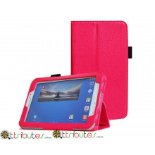 Чехол SAMSUNG GALAXY tab 3 7.0 t210, t211 Classic book cover rose red