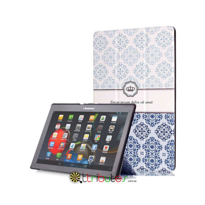 Чехол Lenovo tab 2 A10-70 10.1 Print ultraslim crown