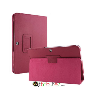 Чехол SAMSUNG GALAXY tab 2 10.1 p5100, p5110 Classic book cover rose red