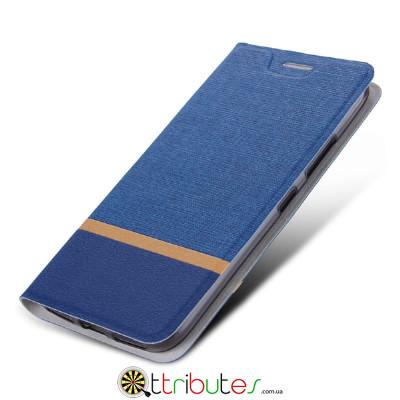 Чехол Lenovo Phab 2 PB2-650M 6.4 Textile ultraslim dark blue